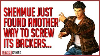 After Epic Deal, Shenmue Stuns With Even More Ways To Disappoint Backers