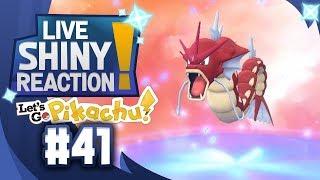 ✨SHINY GYARADOS LIVE REACTION✨ || KANTO LIVING DEX #41 - Pokémon LGPE