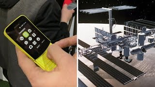 """هاتف """"الموزة"""" من نوكيا الجديد  و كمبيوتر HP الذي سيرسل إلى الفضاء - 4Tech"""