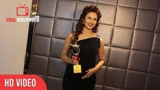 Divyanka Tripathi At The Most Admired Leaders Of Maharastra Awards Show | Viralbollywood