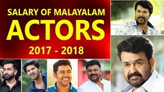 Highest Paid Mollywood Actor 2017 - 18, Salary of Malayalam actors