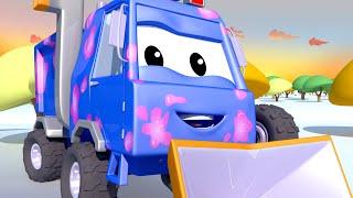 El lavado de Autos de Tom -  Sam el Quitanieves - Dibujos animados de carros