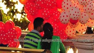 Hyderabad Police safeguarding valentine couples