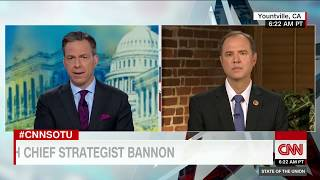 Rep. Adam Schiff: Trump should continue to clean house (Entire State of the Union interview)
