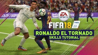FIFA 18 NEW SKILLS TUTORIAL | SPIN & FLICK OVER! (RONALDO & GRIEZMANN ONLY)