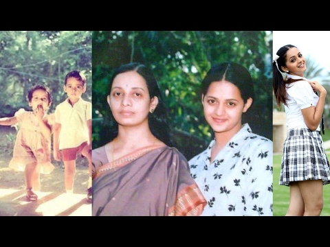 Tamil & Malayalam Actress BHAVANA (Karthika Menon) Biography | Friends and Family Photos |