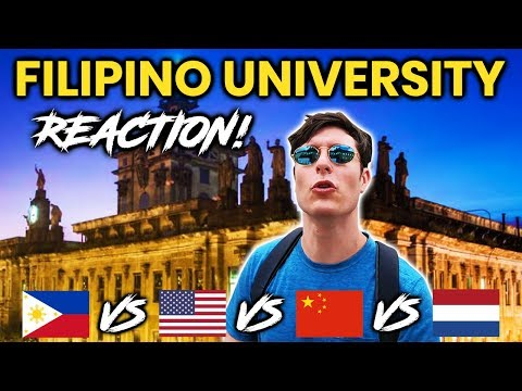 Foreigner Reacts to FILIPINO UNIVERSITY University of Santo Tomas UST