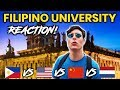 Foreigner Reacts to FILIPINO UNIVERSITY! University of Santo Tomas (UST)!