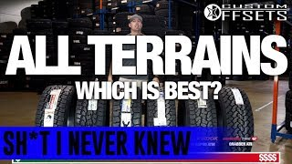 Sh*t I Never Knew: ALL-TERRAIN ALL-Stars || Side By Side Comparison