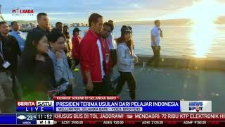 Jokowi Temui Pelajar Indonesia di Selandia Baru
