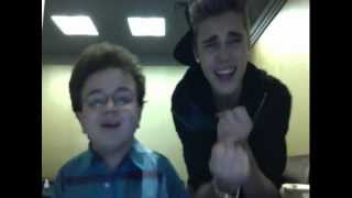As Long As You Love Me   Beauty And A Beat MashUp (Keenan Cahill and Justin Bieber)