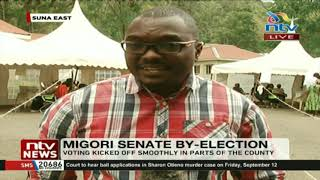 Low voter turnout in many parts of Migori county experienced in the morning hours.