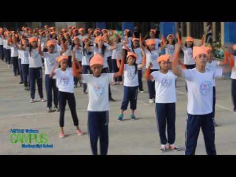 Nestle Wellness Dance Exercise 2016 (MHS)