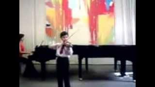Ivan Virág (6. rokov)  sútaž  Nitrianska lutna N. Baklanova