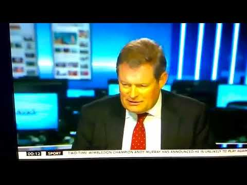 Watch the moment this Sky News man just couldn't talk about Brexit anymore