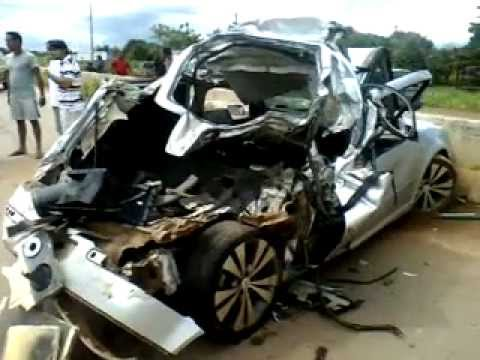 Grave acidente na BR 364 Sentido Candeias do Jamari
