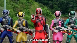 Dekaranger vs Gavan: Deka Roll Call