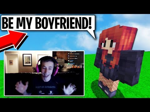 CATFISHING TWITCH STREAMER WHILE HES LIVE ON MINECRAFT
