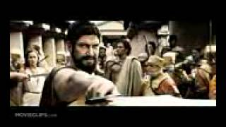 This is Sparta!   300 1 5) Movie CLIP (2006) HD