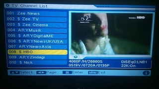 Asiasat New Chanal Add    MPEG2 Riciver Chanal Auto Scanning