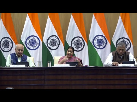 Xxx Mp4 Press Conference By External Affairs Minister On The Issue Of Iraq 3gp Sex