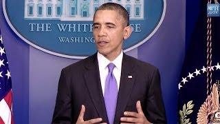 President's Statement On Ending The Gov't Shutdown and Debt Crisis