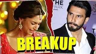 Ranveer Singh And Deepika Padukone BREAK UP Story REVEALED