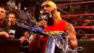 WWE Judgment Day 2002 - Hulk Hogan Vs The Undertaker Promo