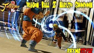 Dragon Ball Z vs Naruto Shippuden: Tailed Beast Bomb vs Spirit Bomb (J-Stars Victory VS)