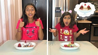 TWIN TELEPATHY ICE CREAM CHALLENGE!!!!!!