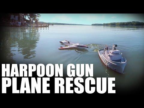 Flite Test Harpoon Gun Plane Rescue