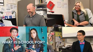 """TEACHERS REACT TO """"WHAT IS SCHOOL FOR?"""" By Prince EA"""