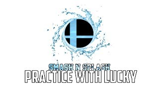 Mang0 Marth Smash N' Splash Practice With Lucky