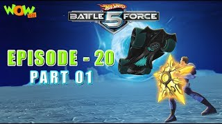 Motu Patlu presents Hot Wheels Battle Force 5 - Artifact Attack - Episode 20-P1- in Hindi