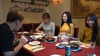 170725 [2] 고말숙 친한친구들과 스페인 음식 먹기!! Feat:한채정,문민영 - KoonTV