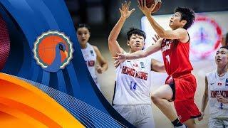 Hong Kong v Japan - Full Game - FIBA U16 Women's Asian Championship 2017