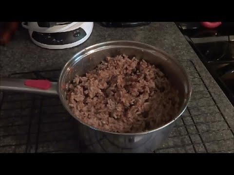Easy Vegan Meat Substitute | Salt, Oil & Gluten Free
