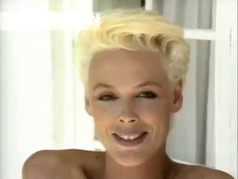 BRIGITTE NIELSEN STALLONE 80 s Interview on Photoshoot For AnnaClub by Canale Moda