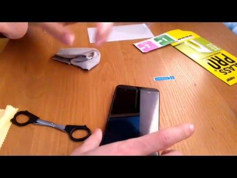 Как наклеить защитное стекло на телефон - Пошаговая инструкция и советы по выбору