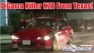 Davids Killer H2b Civic From Texas Highway Pulls with Mustangs and Others!