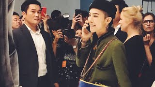 G DRAGON AT CHANEL MADEMOISELLE PRIVE, SEOUL 2017