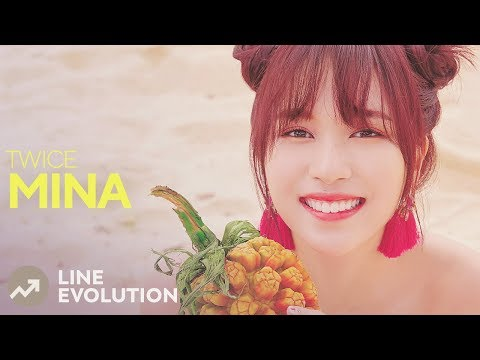 TWICE - MINA (Line Evolution) • JUL2018