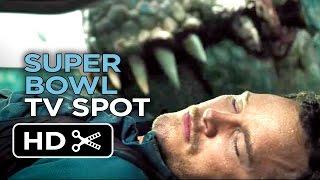 Jurassic World Official Super Bowl TV Spot (2015) - Chris Pratt, Jake Johnson Movie HD
