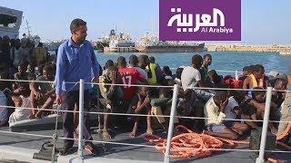 عقوبات على قائد سابق في خفر ليبيا الساحل بعد اتهامه بعمليات لتهريب البشر