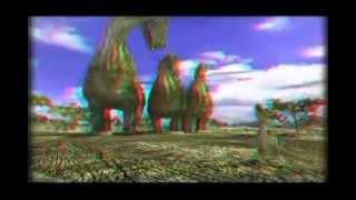 3d Animals Red/Cyan