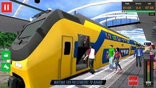 EURO TRAIN DRIVING SIMULATOR GAMES #001 - Train Simulator Games Android #q   Free Games Download