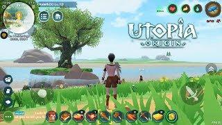 SANDBOX Survival Baru! Seriusan Keren - Utopia: Origin (ENG) Android
