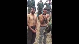 Mosul Operation (2016)  Captured ISIS Members