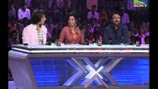 X Factor India - Kalpesh Kharwa's Gujarati Rap in the auditions - X Factor India - Episode 4 -  1st June 2011