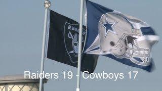 Cowboys @ Raiders Preseason 2013 - Raider Nation Podcast with Raider Greg